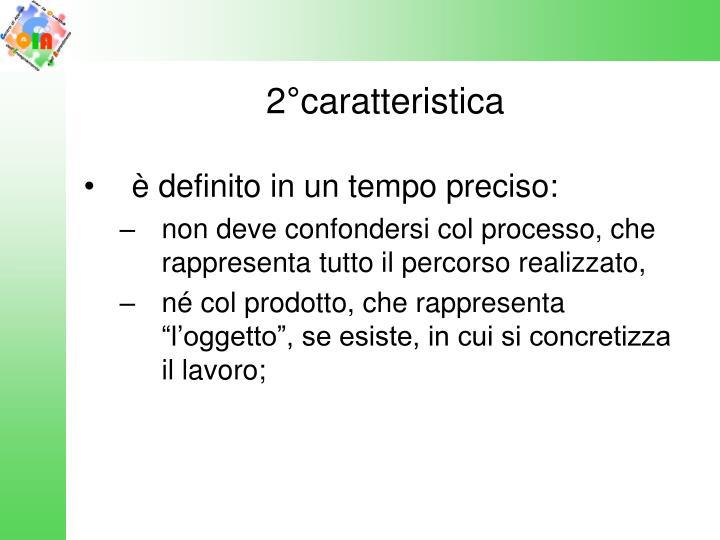 2°caratteristica