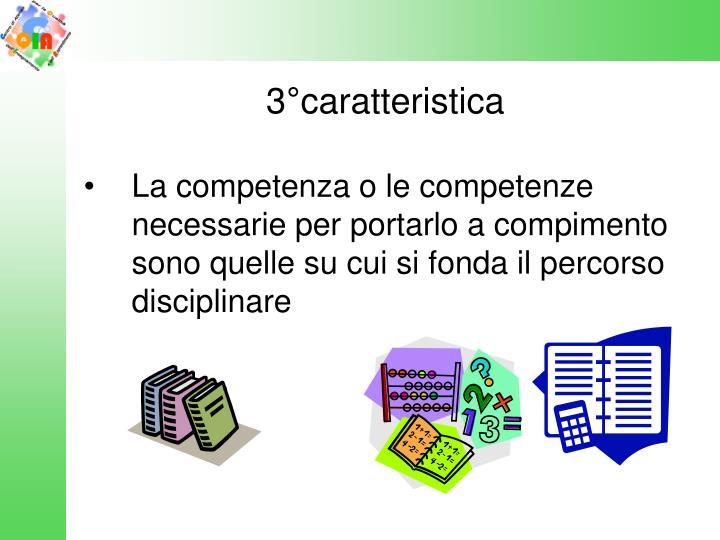 3°caratteristica