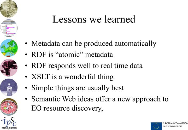 Metadata can be produced automatically