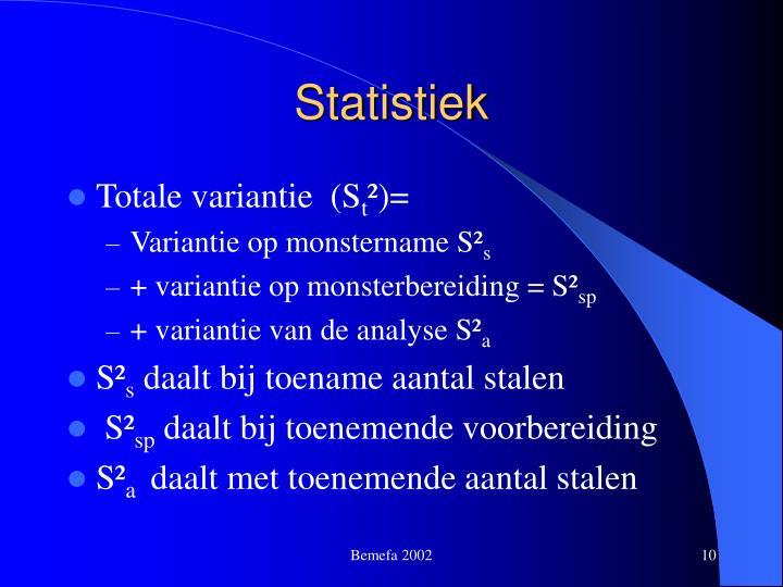 Statistiek