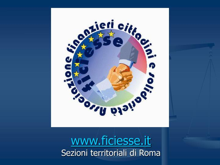 www.ficiesse.it