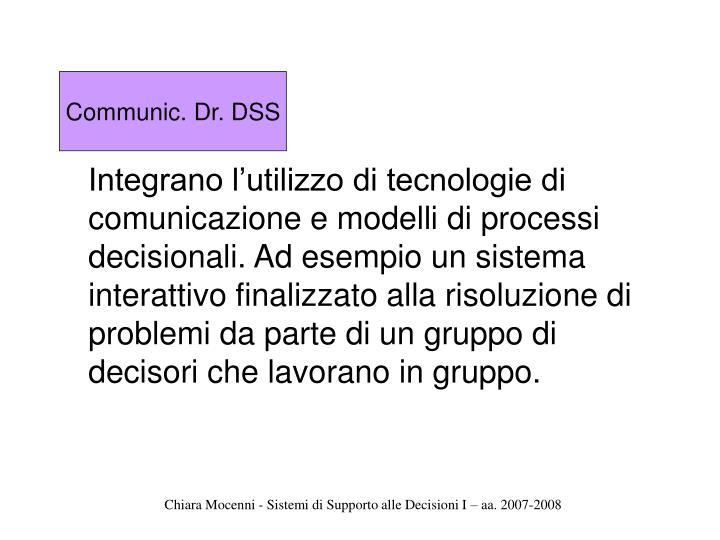Communic. Dr. DSS