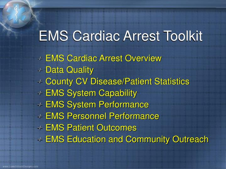 EMS Cardiac Arrest Toolkit