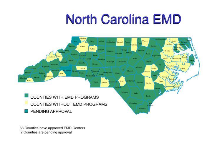 North Carolina EMD