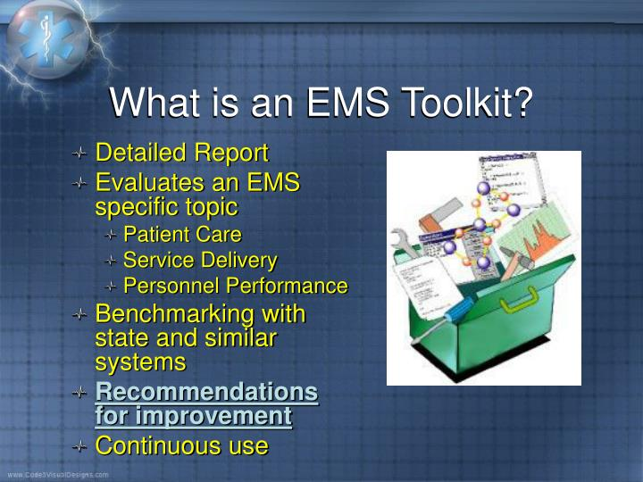 What is an EMS Toolkit?