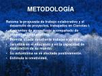 metodolog a