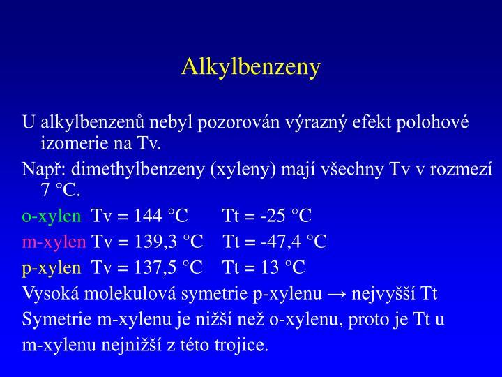 Alkylbenzeny