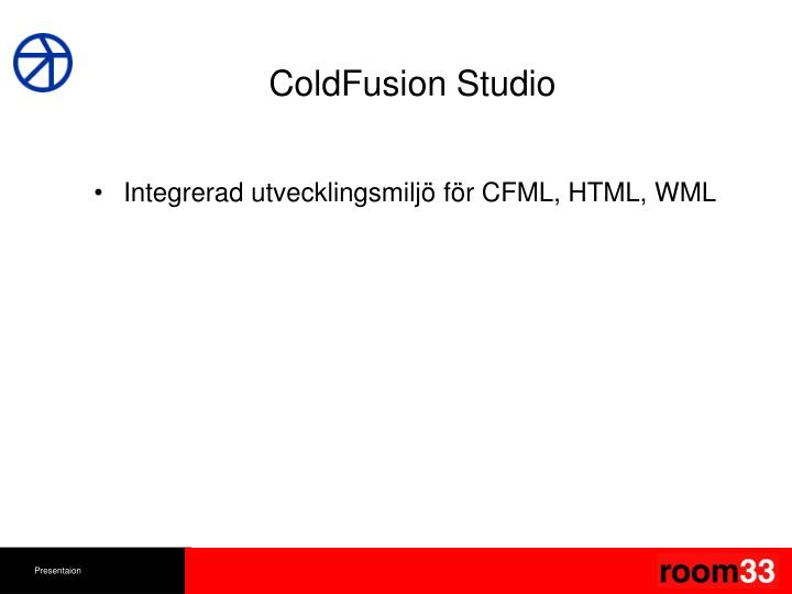 ColdFusion Studio