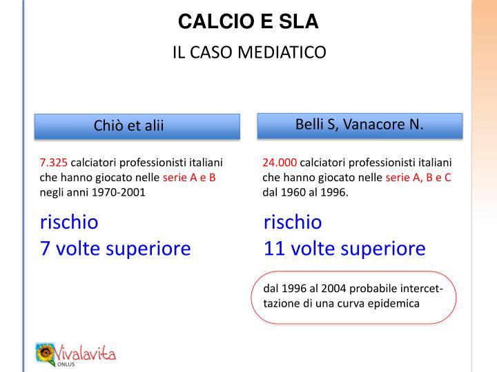 CALCIO E SLA