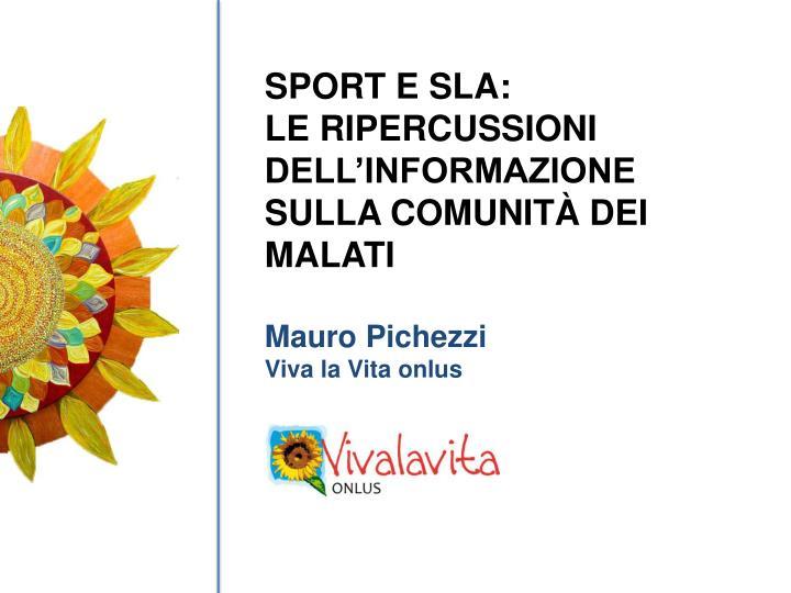 SPORT E SLA: