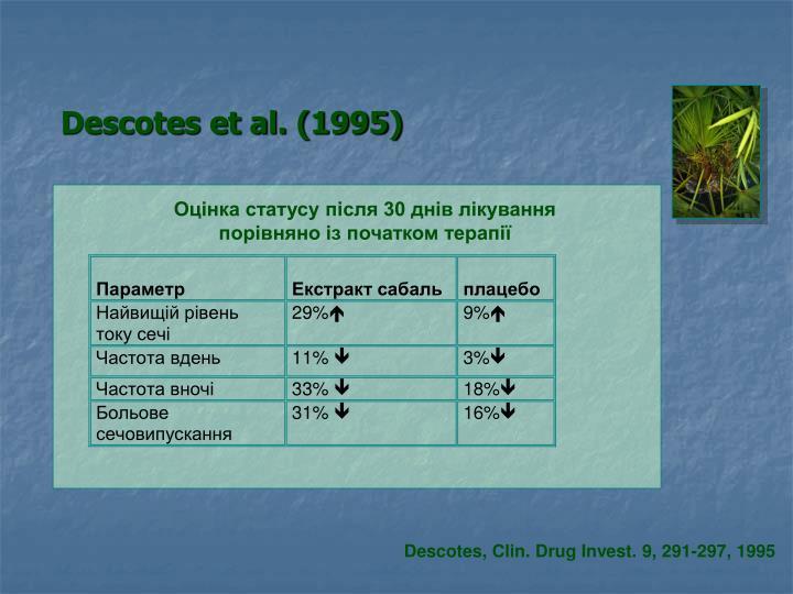 Descotes et al. (1995)