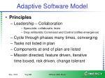 adaptive software model1