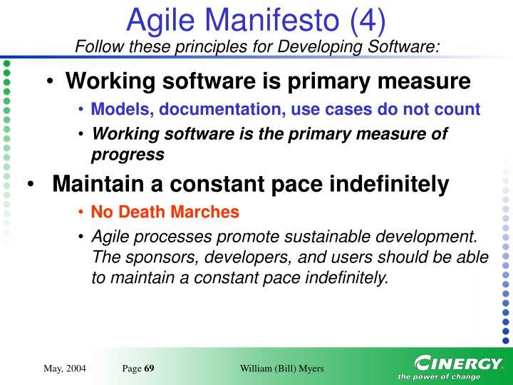 Agile Manifesto (4)