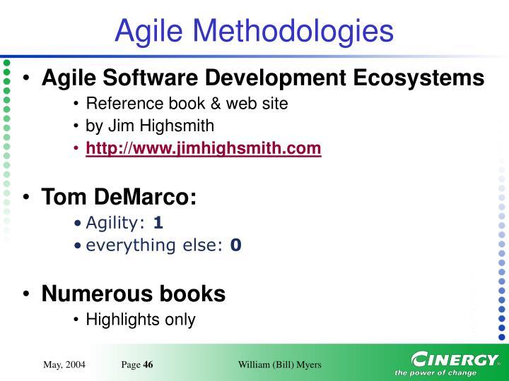 Agile Methodologies