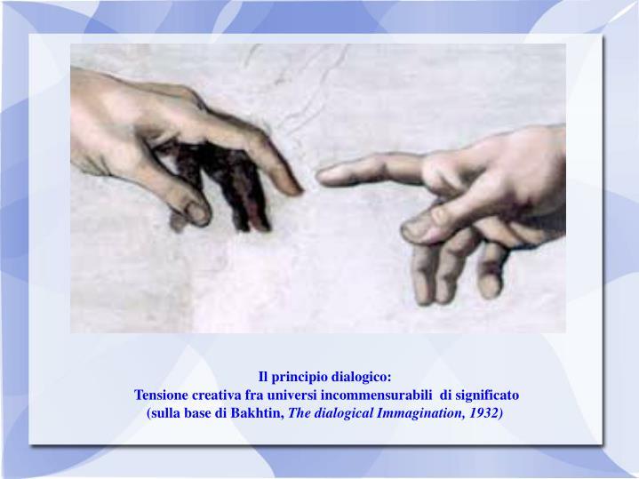 Il principio dialogico: