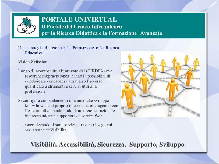 PORTALE UNIVIRTUAL