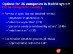options for uk companies in madrid system uk as designated country