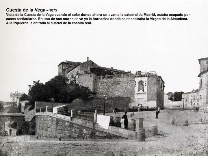 Cuesta de la Vega