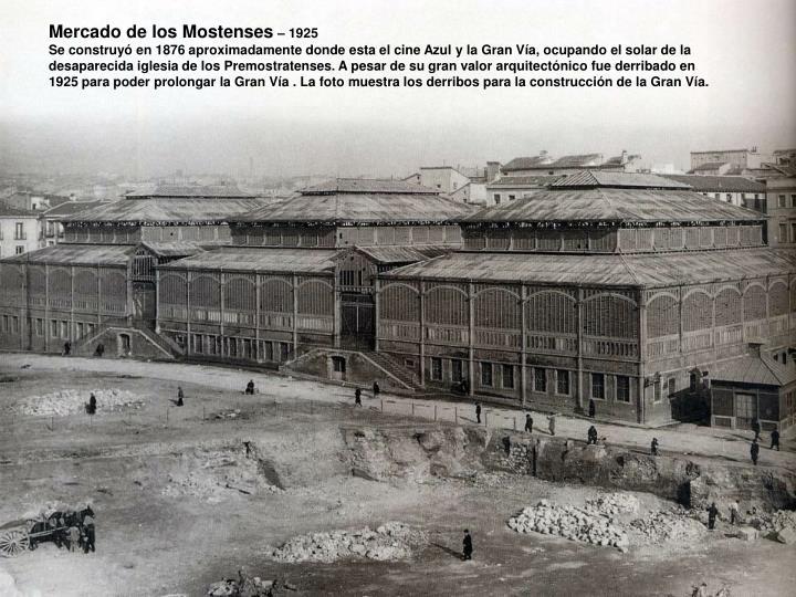 Mercado de los Mostenses