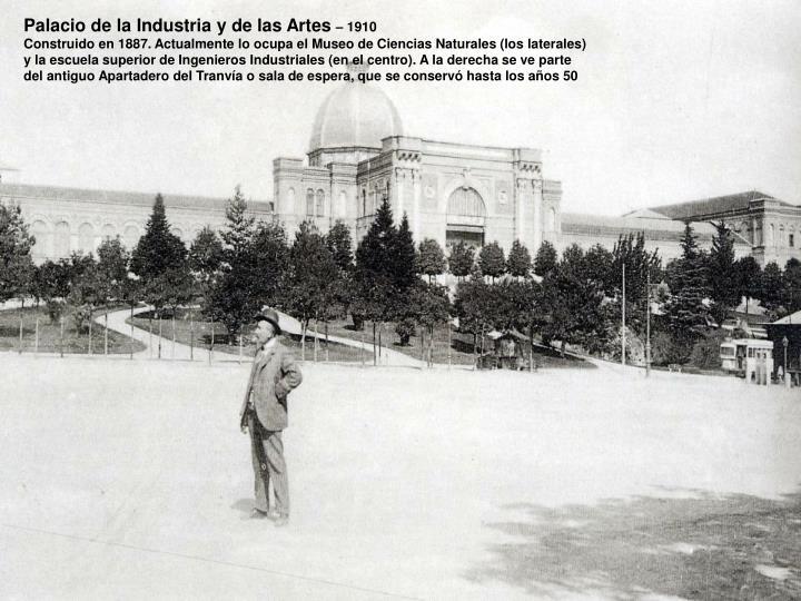 Palacio de la Industria y de las Artes