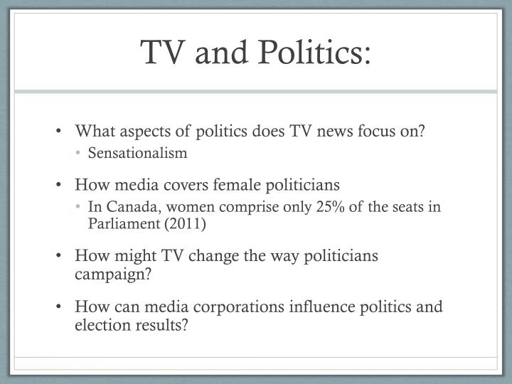 TV and Politics: