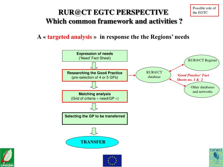 Possible role of the EGTC