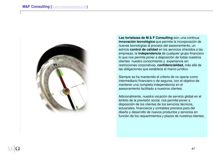 M&F Consulting [