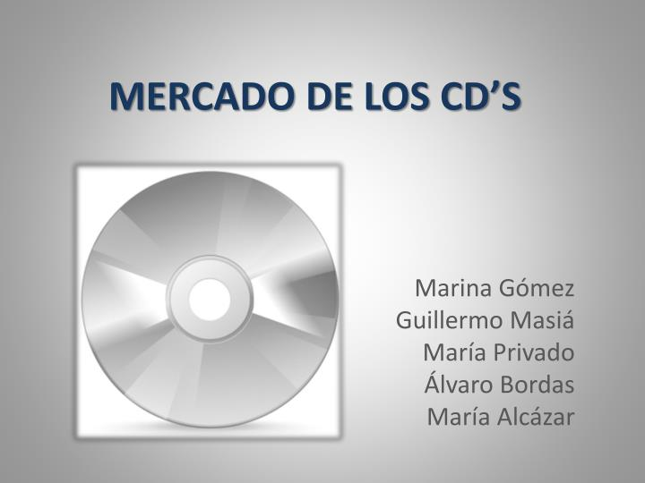 Mercado de los cd s