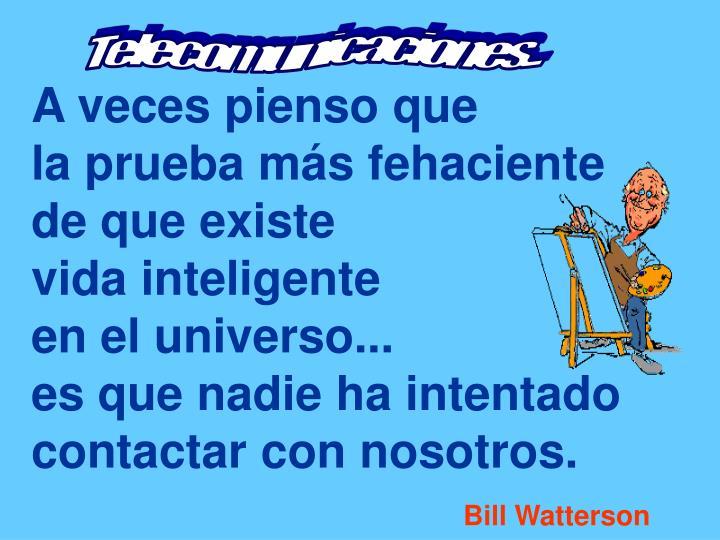 Telecomunicaciones...