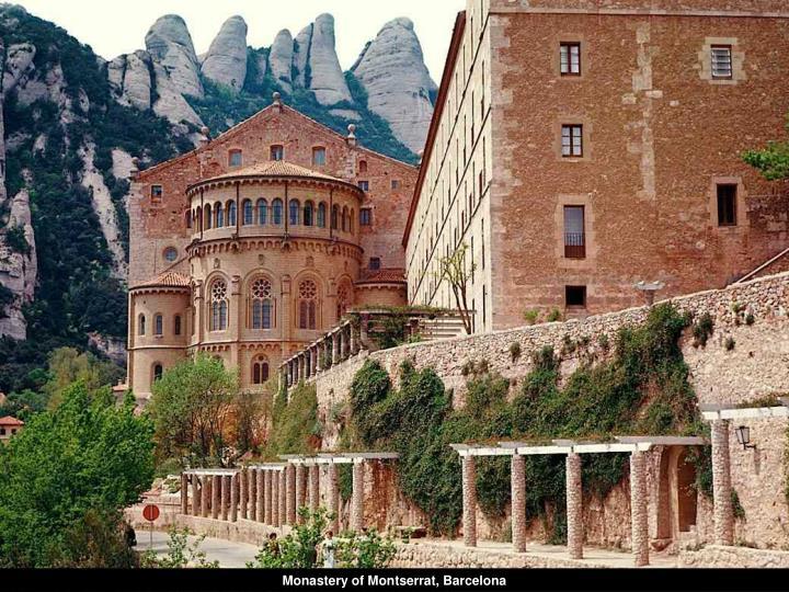 Monastery of Montserrat, Barcelona