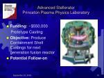 advanced stellerator princeton plasma physics laboratory