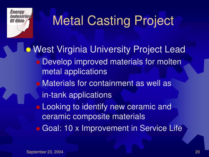 Metal Casting Project
