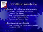 ohio based assistance