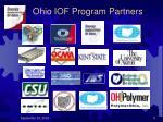 ohio iof program partners
