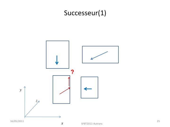 Successeur(1)