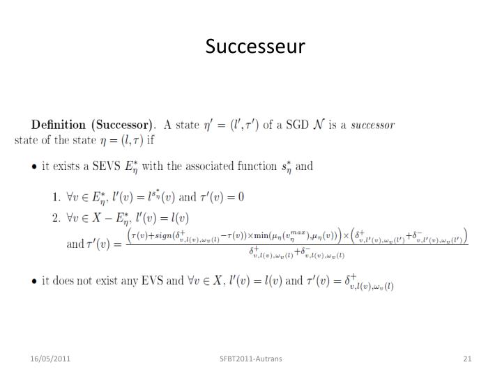 Successeur
