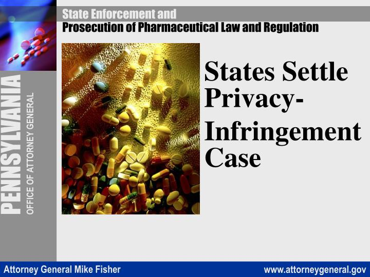 States Settle Privacy-