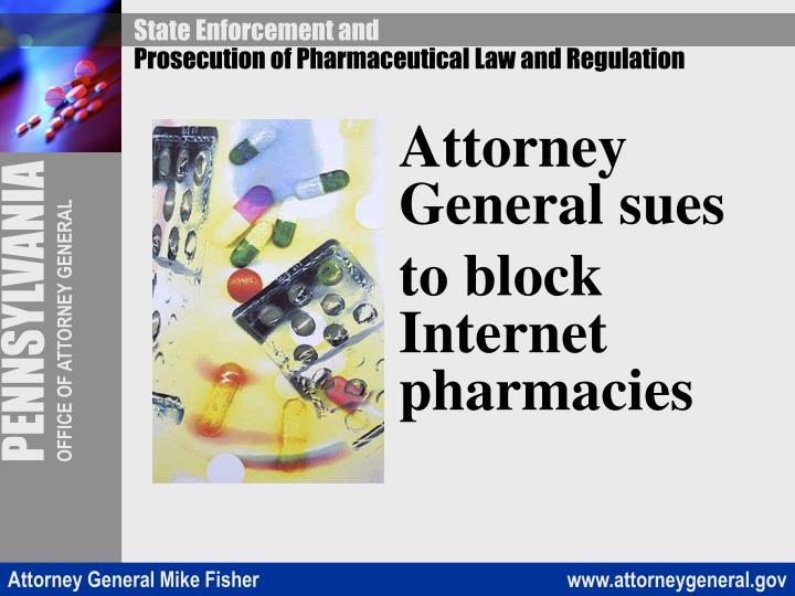 Attorney General sues