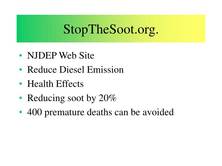 StopTheSoot.org.