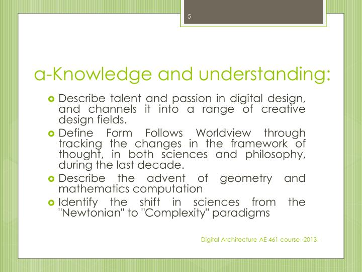 a-Knowledge