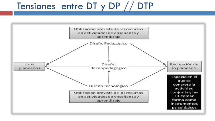 Tensiones  entre DT y DP // DTP