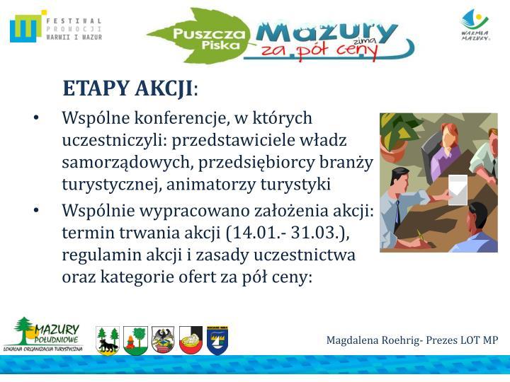 ETAPY AKCJI