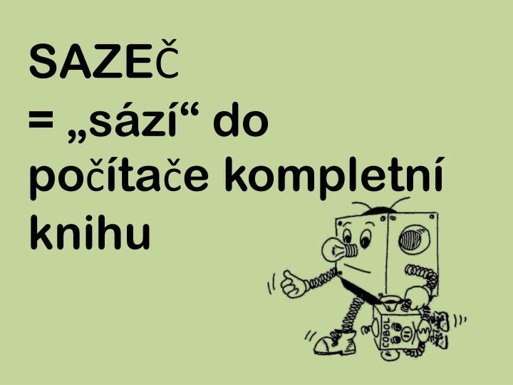 SAZEČ