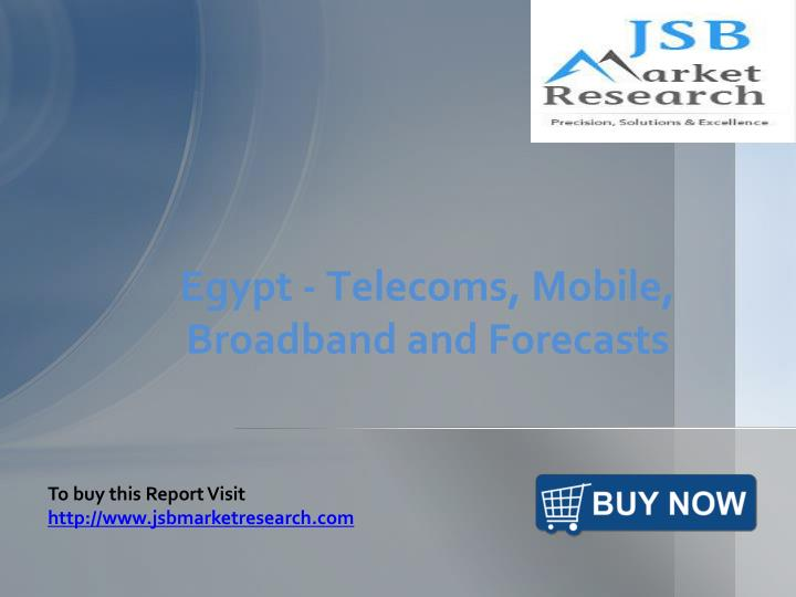 egypt telecoms mobile broadband and forecasts