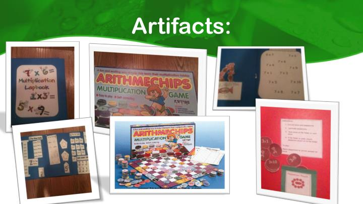 Artifacts: