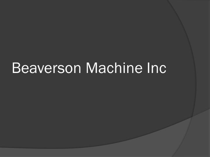 Beaverson