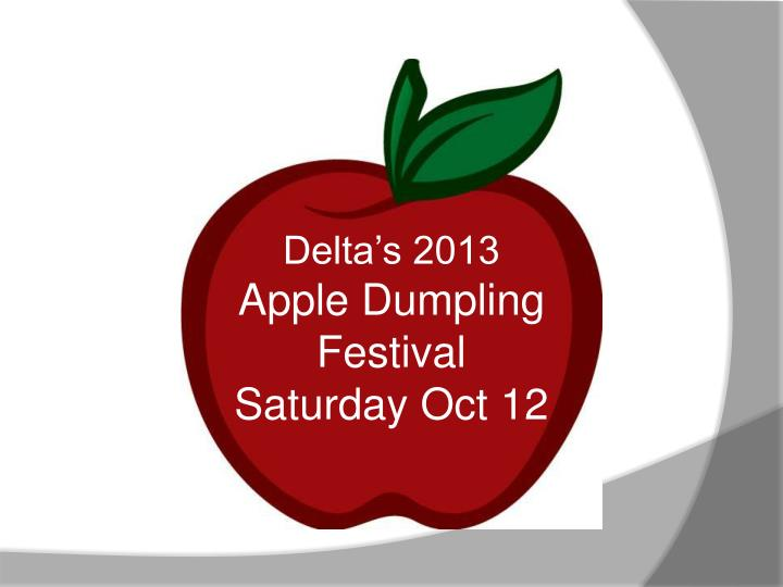 Delta's 2013