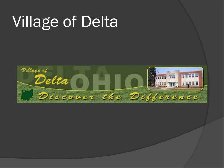Village of Delta