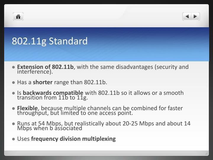 802.11g Standard