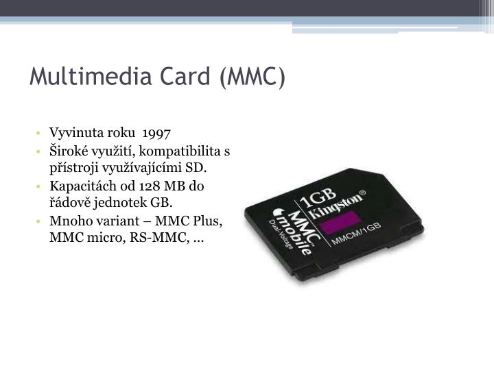 Multimedia Card (MMC)